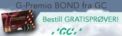 20160303 GC G-Premio BOND, bestill gratisprøver