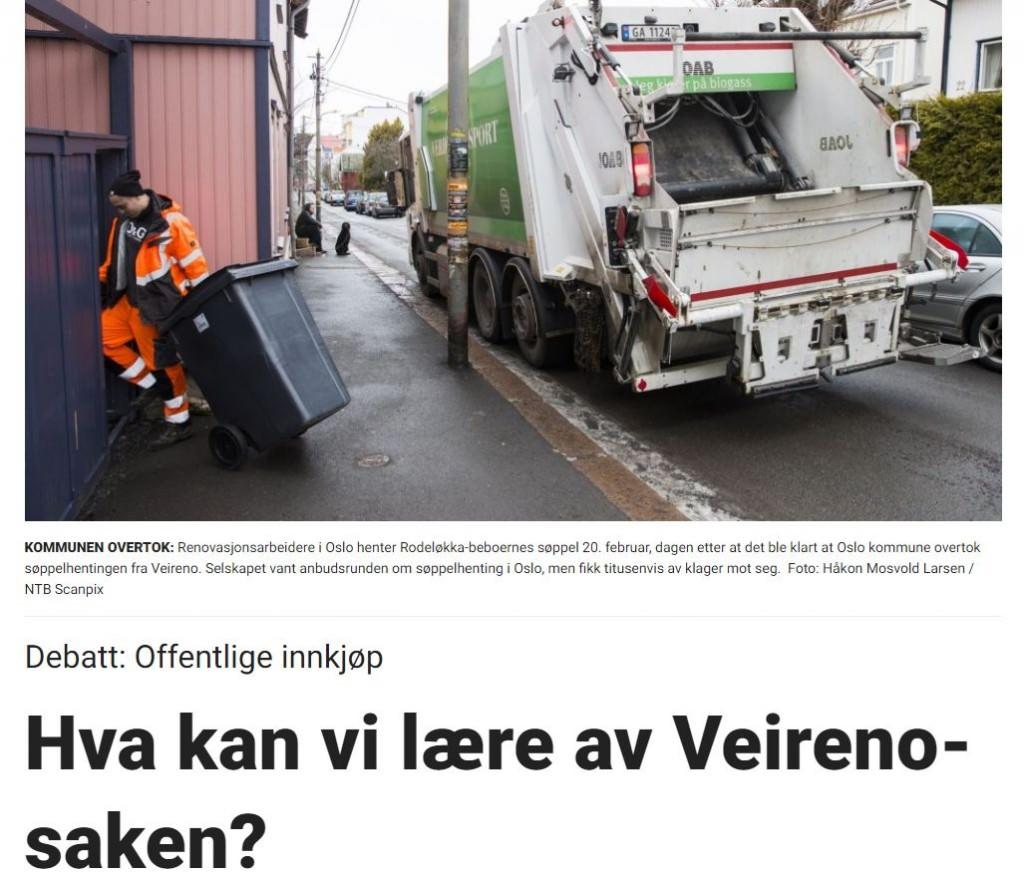 screenshot veirenosaken dagbladet