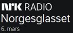 NRKradio norgesglasset 150x70