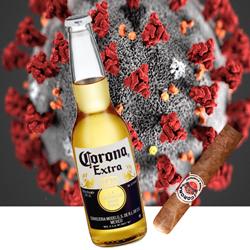 corona virus beer og cigar 250x250