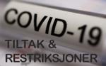 COVID-19 tiltak og restriksjoner 150x93